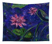 Monet's Lily Pond II Tapestry