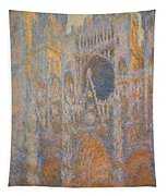Monet's Rouen Cathedral -- West Facade Tapestry