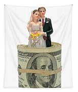 Money And Happiness Tapestry