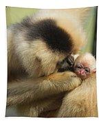 Monkey Mother Tapestry