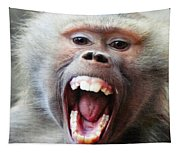 Monkey's Smile Tapestry