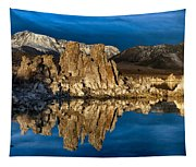 Mono Lake In March Tapestry