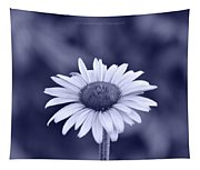 Monochrome Aster Tapestry
