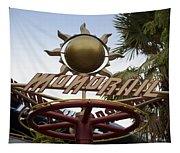 Monorail Signage Disneyland Tapestry