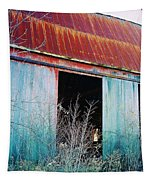 Monroe Co. Michigan Barn Tapestry