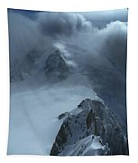 Mont Blanc Storm Tapestry