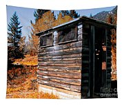 Montana Outhouse 03 Tapestry