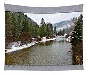 Montana Winter Frame Tapestry