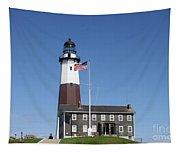 Montauk Lighthouse Tapestry