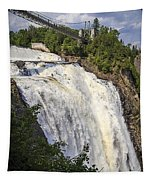 Montmorency Falls Park Quebec City Canada Tapestry