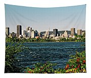 Montreal - Sur Le Fleuve  Tapestry