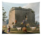 Monument Between Tripoli And Tortosa Tapestry