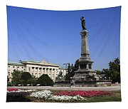 Monument Of Freedom Tapestry