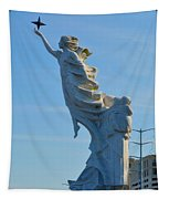 Monument To The Immigrants Statue 2 Tapestry