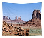 Monument Valley 10 Tapestry