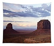 Monument Valley At Sunset Tapestry