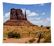 Monument Valley - Elephant Butte Tapestry