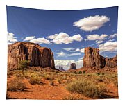 Monument Valley - North Window Overlook  Tapestry
