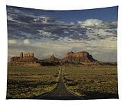 Monument Valley Panorama Tapestry