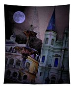 Moon Drops Tapestry