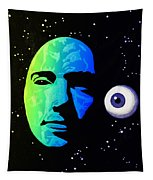Moon Eye Bi Color Tapestry