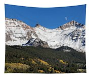Moon Over Lizard Head Pass Tapestry