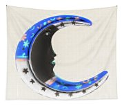 Moon Phase In Inverted Colors Tapestry