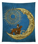 Moon Travel Tapestry by Eric Fan