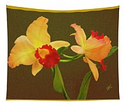 Moonlight Lady Orchid Tapestry