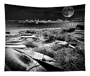 Moonlight On The Bay Tapestry