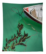 Moored Boat And Kelp Tapestry