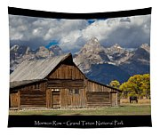 Mormon Row Poster Tapestry