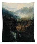 Morning Amongst The Coniston Fells Tapestry