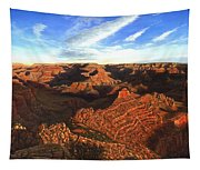 Morning Glory - The Grand Canyon From Kaibab Trail  Tapestry