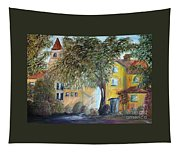 Morning In The Old Country Tapestry