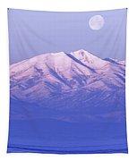 Morning Moon Tapestry