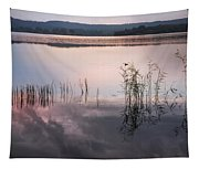 Morning Nocturne. Ladoga Lake. Northern Russia  Tapestry