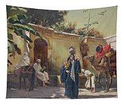 Moroccan Scene Tapestry