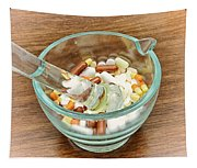 Mortar And Pestle With Drugs Tapestry