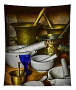 Mortars And Pestles Tapestry