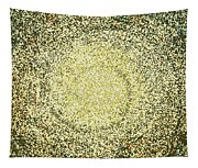 Mosaic Galaxy In Gold Tapestry