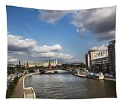 Moscow River - Russia Tapestry