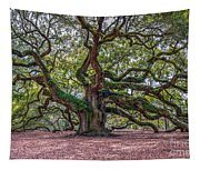Moss Draped Limbs Tapestry