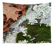Mossy Leaves Tapestry