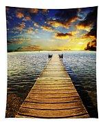 Mossy Point Bridge Tapestry