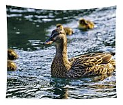Mother Duck Tapestry