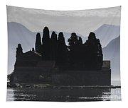 Kotor Bay Island Tapestry