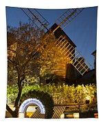 Moulin De La Galette Tapestry