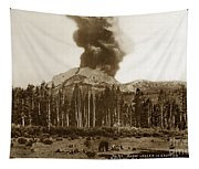 Mount Lassen Volcano California 1914 Tapestry