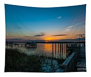 Mount Pleasant Sunset Tapestry